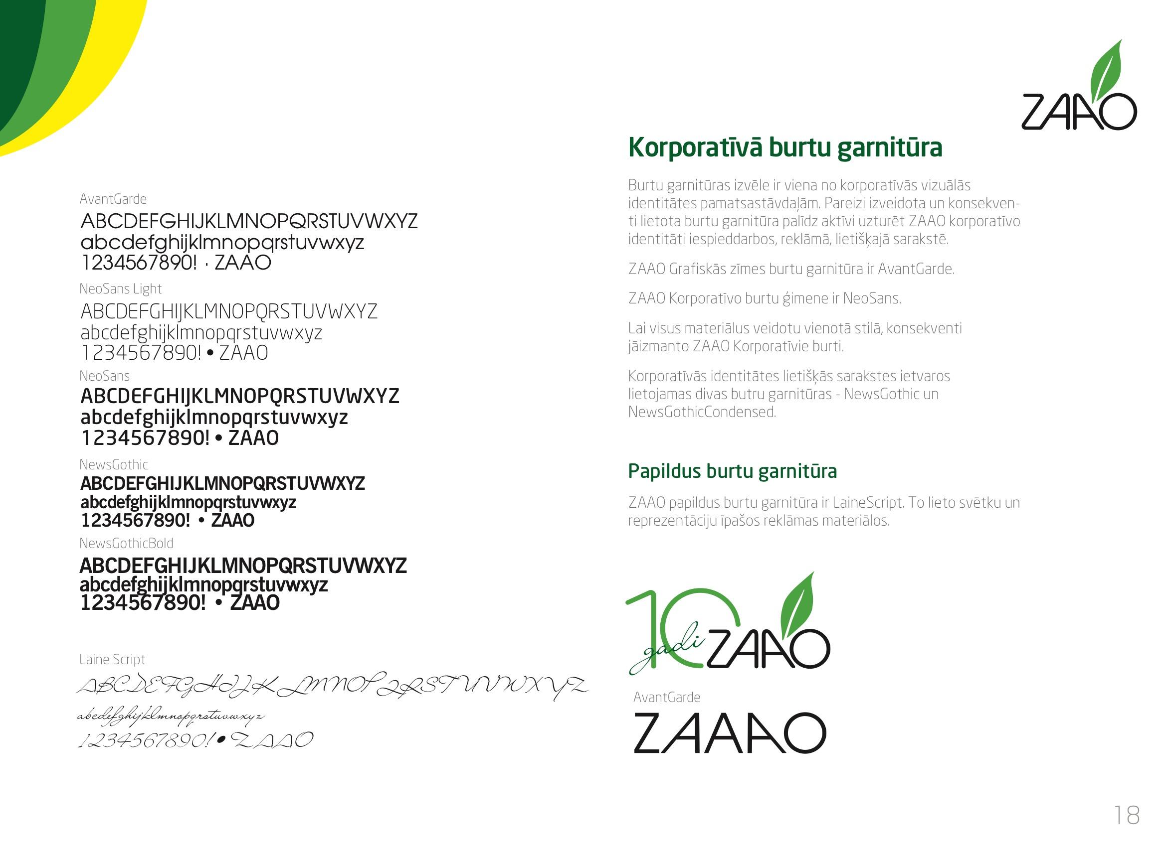 ZAAO stils OK 20